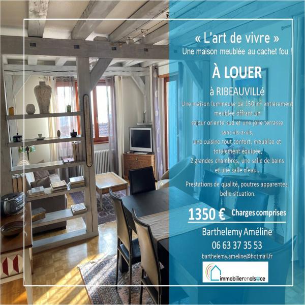 Offres de location Maison Ribeauville 68150